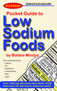 Pocket Guide to Low Sodium Foods